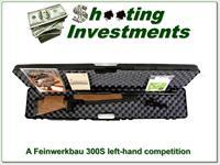 Feinwerkbau 300S Match left-hand competition air rifle in .177