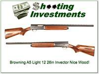 Browning A5 Light 12 26in Invector nice wood!