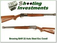 Browning BAR 22 Semi-auto 15 round tube!