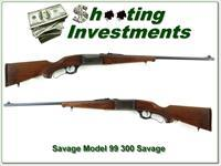 Savage Model 99 in 300 Savage