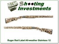 Ruger Red Label All-weather 30in stainless 12 Gauge Camo