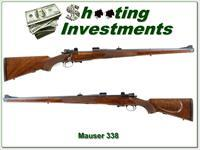 Custom Rifle Ranch Mauser Manlicher in 338 Win Mag