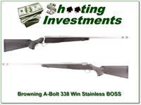 Browning A-bolt Stainless 338 Win MAG BOSS!