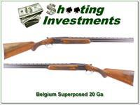 Browning Superposed 58 Belgium 20 Gauge!