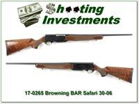 Browning BAR Safari 30-06 Exc Cond
