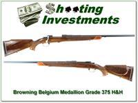 Browning Belgium Medallion Grade 375 H&H as new