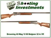 Browning A5 12 Magnum 69 Belgium 32in VR