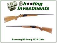 Browning BSS SxS 12 Gauge mde in 1975