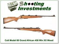 Sauer 80 Grand African 458 Win XX Wood!