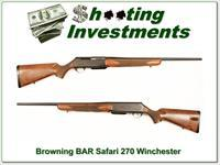Browning BAR Safari 270 Winchester