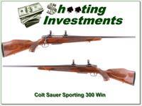 Colt Sauer Sporting rifle in 300 Win Mag