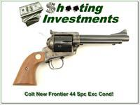 Colt New Frontier SAA 44 Special 5.5 in looks new!