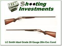 LC Smith Ideal Grade 20 Gauge 28in Full and Full