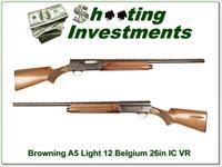 Browning A5 1956 Belgium Light 12 26in IC