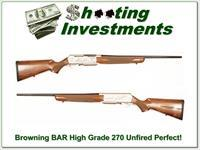 Browning BAR Mark II High Grade 270 unfired!