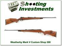 Weatherby Mark V Deluxe Custom Shop 300!