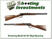 Browning Model 92 357 Magnum Montana Centennial unfired!