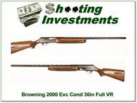 Browning 2000 74 Belgium Exc Cond!