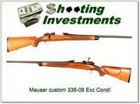 Custom Mauser in 338-06 Exc Cond!