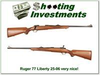 Ruger 77 RS 25-06 Liberty Red Pad Pre-Warning!