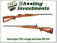 Remington 700 Vintage Stainless 264 Win Mag!