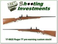 Ruger 77 Red Pad pre-warning Exc Cond!
