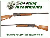 Browning A5 Light 12 68 Belgium 30in VR