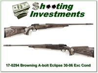 Browning A-bolt Eclipse Laminated 30-06 with BOSS