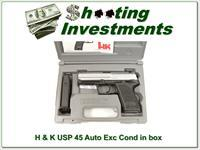 H&K USP Compact .40 S&W with Stainless slide