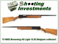 Browning A5 Light 12 66 Belgium Blond VR 26in IC!