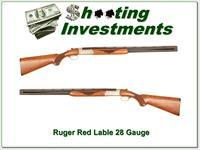 Ruger Red Label 28 Gauge 26in Exc Cond!