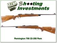 Remington 700 BDL 22-250 24in looks unfired