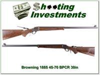 Browning 1885 45-70 BPCR 30in, case colored