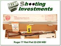Ruger Model 77 RS 22-250 Red Pad Tang Safety NIB!