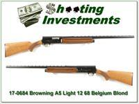 Browning A5 Light 12 68 Belgium Blond!