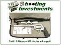 Smith & Wesson Performance Center 500 Hunter with Leupold!