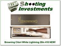 Browning Citori White Lightning 410 28in factory new!