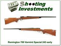 Remington 700 BDL Varmint Special 243 Win Pressed Checkering