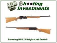 Browning BAR 308 Grade II 308 Exc Cond!