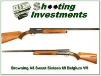 Browning A5 Sweet Sixteen 70 Belgium 28in Mod VR