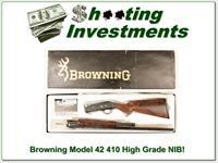 Browning Model 42 High Grade 410 NIB!
