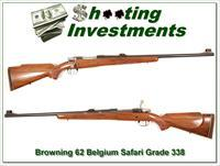 Browning early Belgium Safari Grade 338 Long Extractor mint!