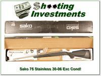 Sako 75 Stainless 30-06 Exc Cond