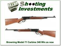 Browning Model 71 348 Winchester near new!
