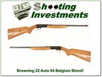 Browning 22 Auto 1964 Blond!