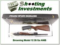 Browning Model 12 28 Gauge excellent wood ANIB