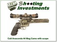 Colt Anaconda 8 in Camo with Redfield Camo scope