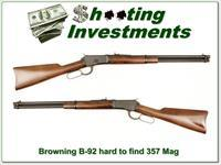 Browning B-92 harder to find 357 Magnum!