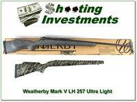 Weatherby Mark V Ultra-Light LH 257 Wthy Mag