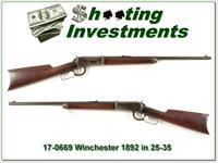 Winchester 1892 in 25-35 made in 1908